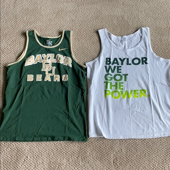 Nike Other - Baylor Tank Tops
